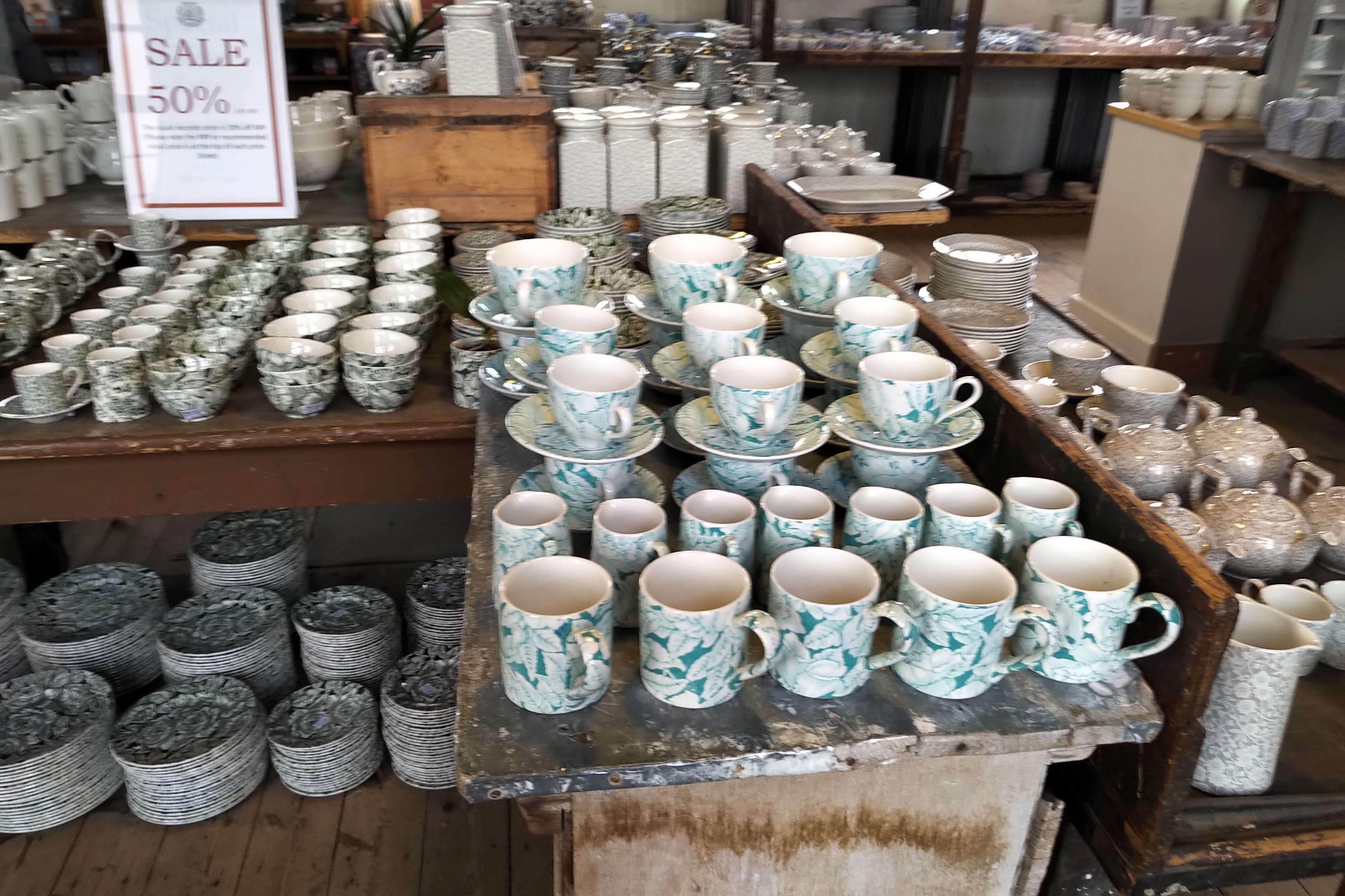 イギリスの陶器アウトレット UK sightseeing pottery