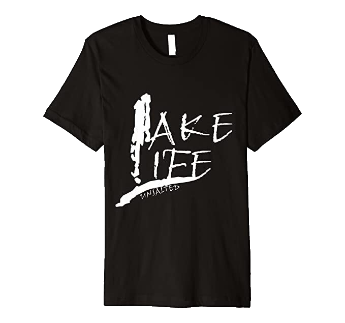 lake life unsalted premium t shirt from no salt gear