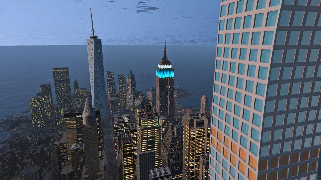 One WTC & 432 Park Avenue Tower - Liberty Rewind