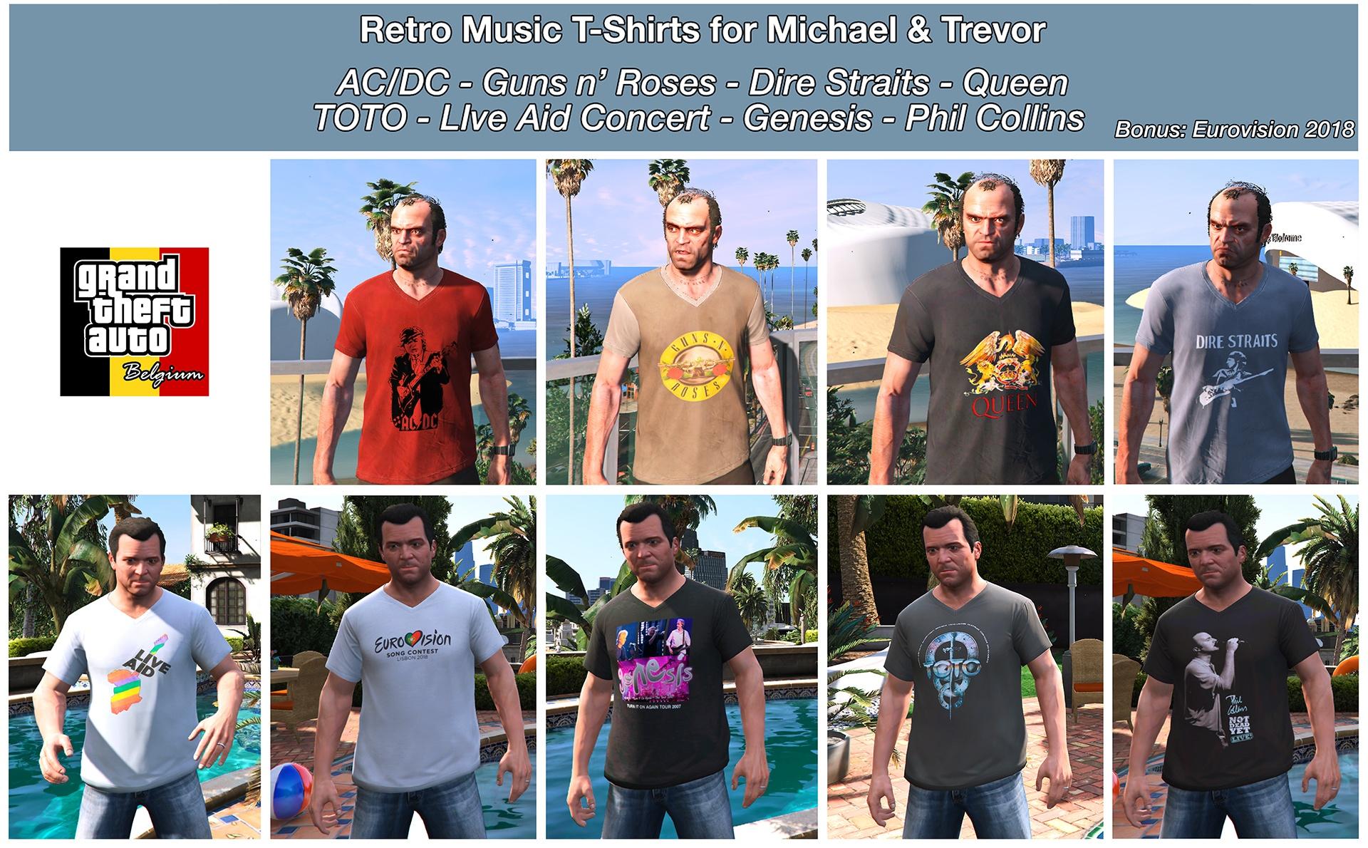 Retro Music Shirts