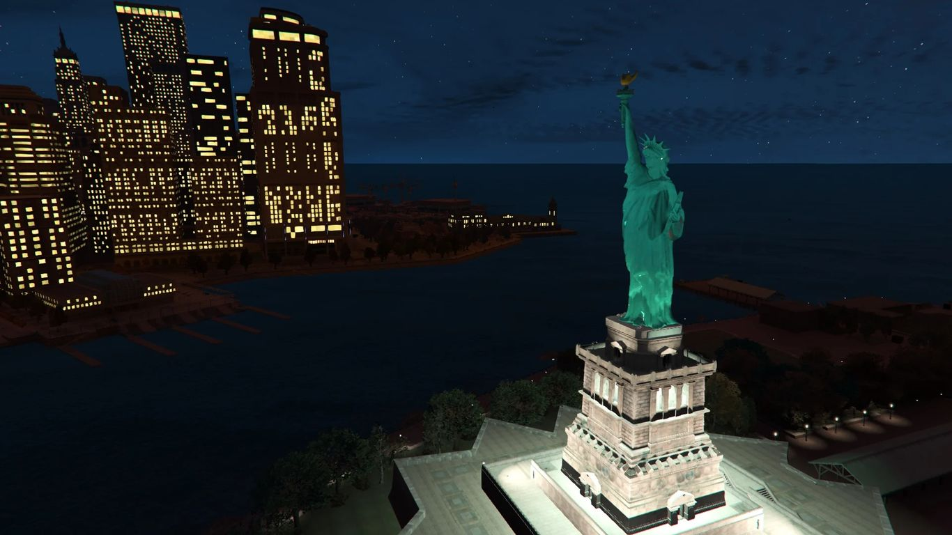 Statue of Liberty - Liberty Rewind