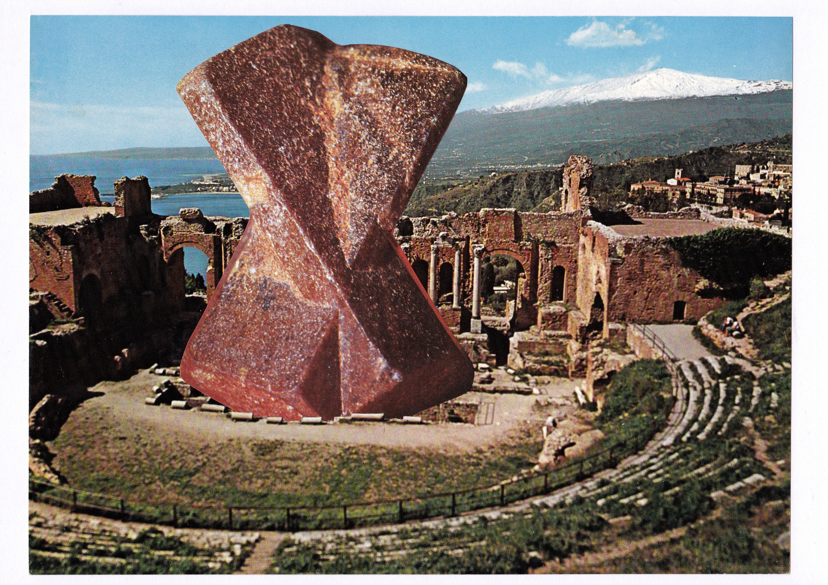 Publicly-Funded Minerals At The Greek Theatre Of Taormina