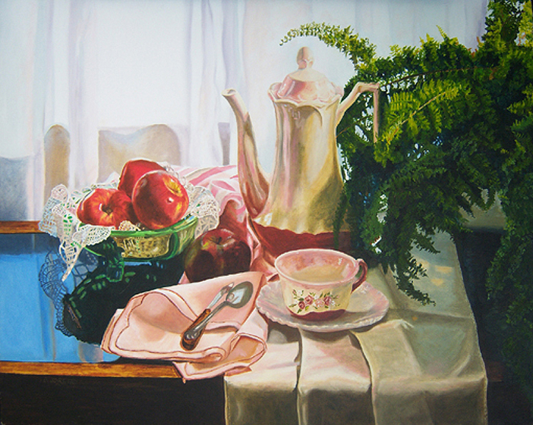 still life art, artwork, painting for sale, purchase from artist diane jorstad, realism, traditional