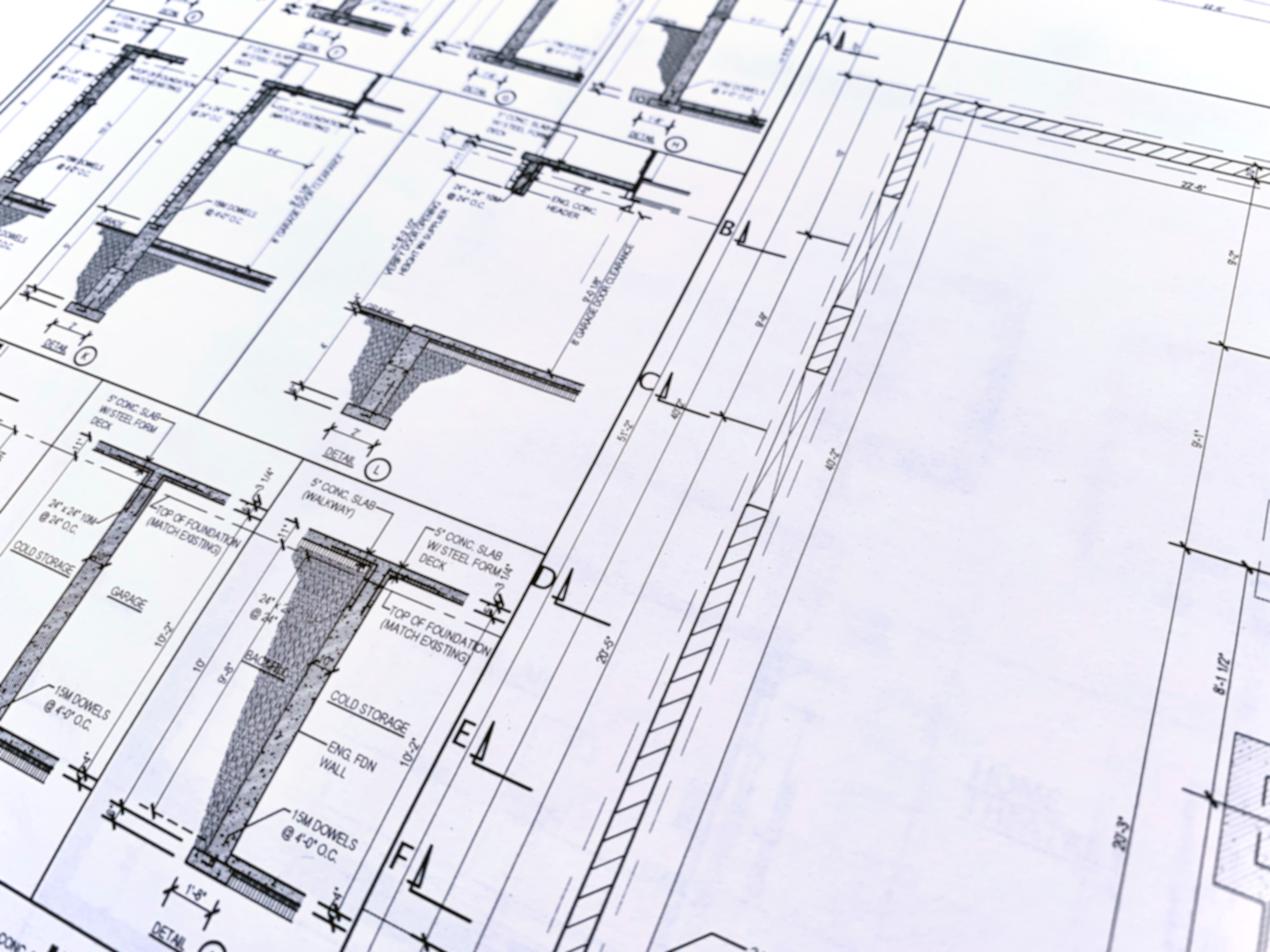 Architectural As Built Floor Plans