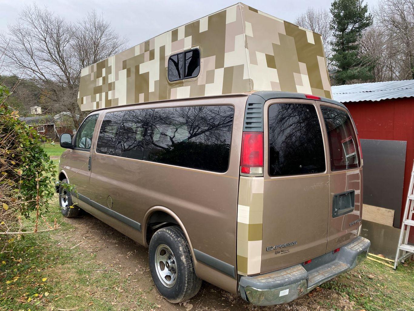 Chevy Express Van Camper Conversion