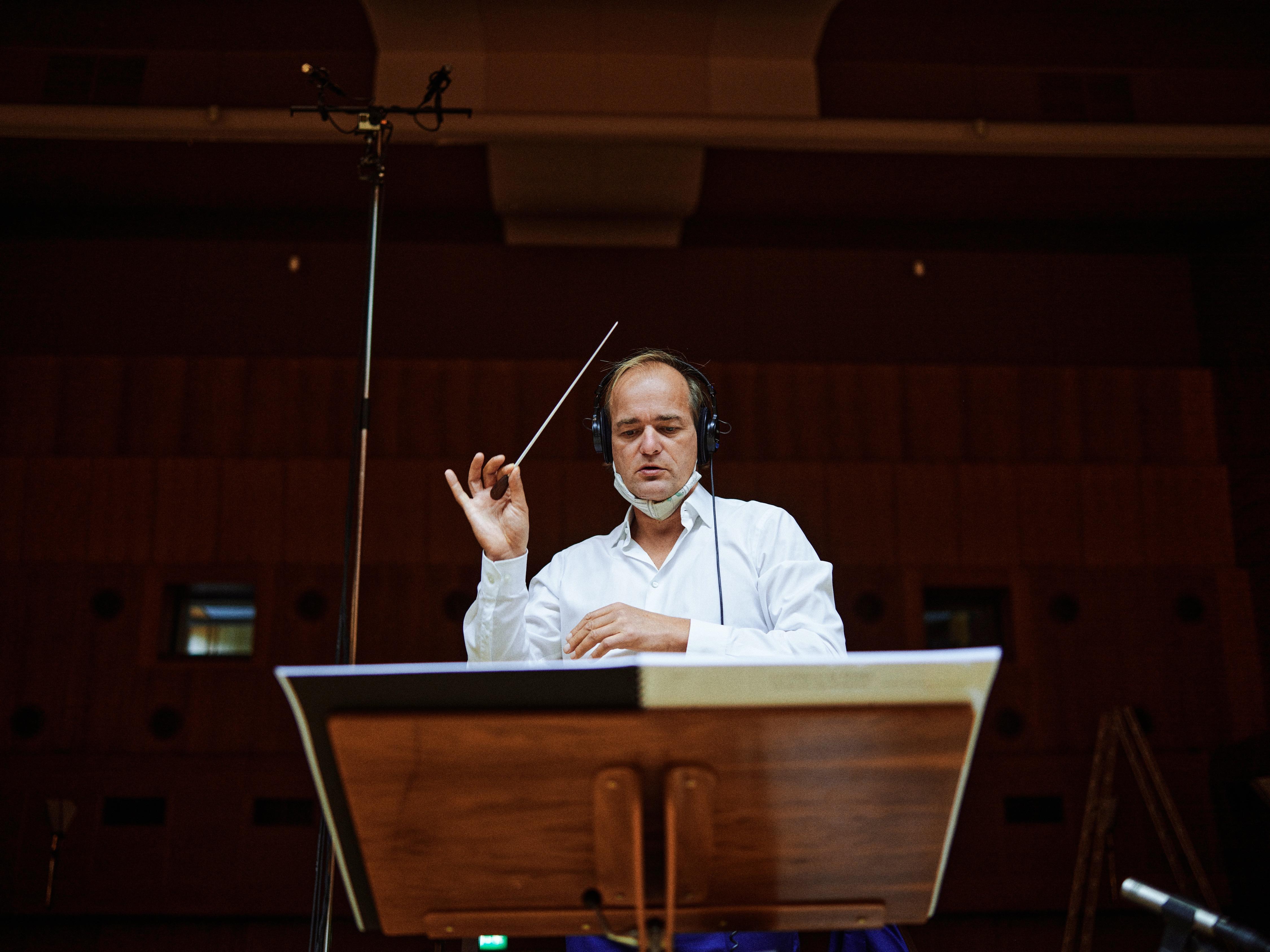 Orchester der Kulturen, Adrian Werum, Marc Schaefer, Hans-Rosaud-Studio, SWR