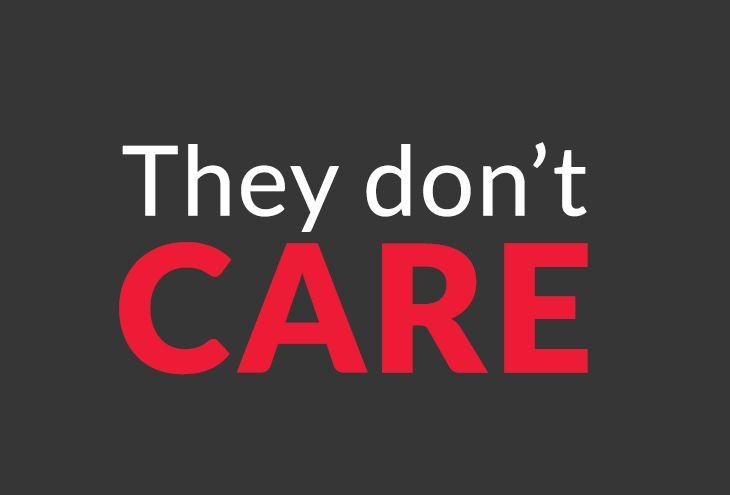 Nobody cares...