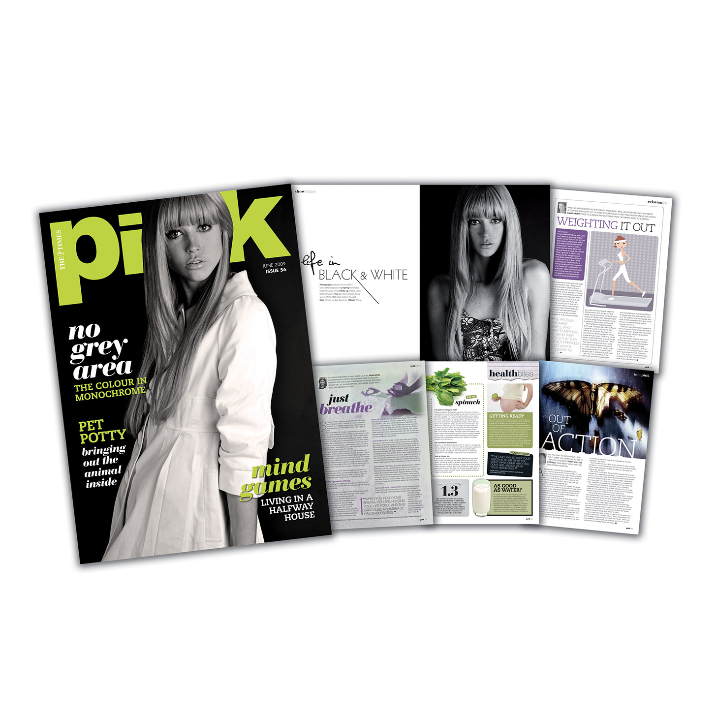 Fashion Magazine design editorial