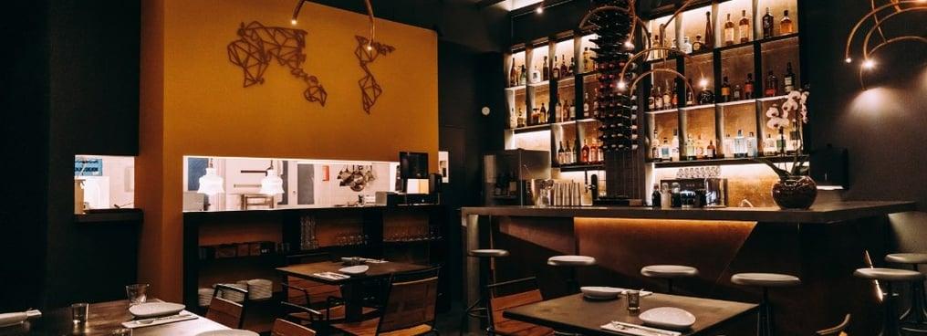 Restaurante Salta, Lisboa, Sala Principal, Bar,