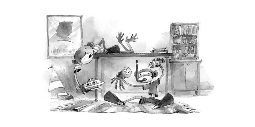 chapter book illustration