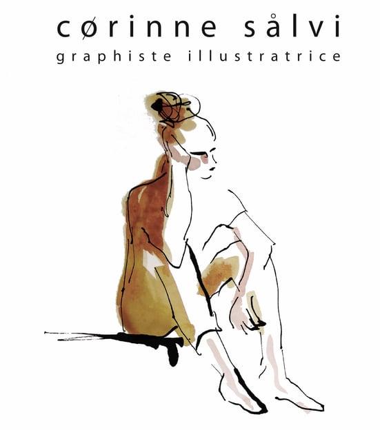 Corinne Salvi graphiste illustratrice Chapelle Mijoux