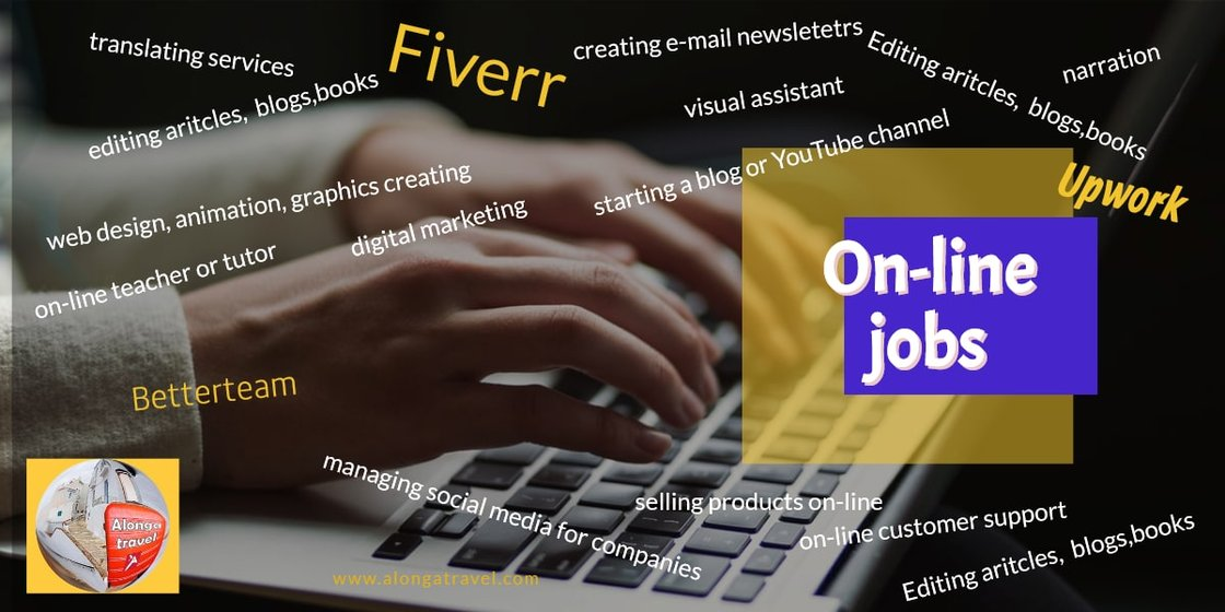Type of on-line jobs are out there