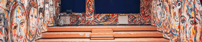 2020 Murales Madri Costituenti di Carlo Gori per l'Istituto Comprensivo Corrado Melone di Ladispoli