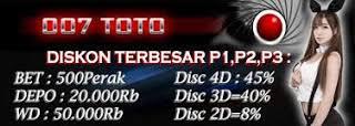 007 TOTO | LOGIN MEMBER & DAFTAR MEMBER & 007TOTO
