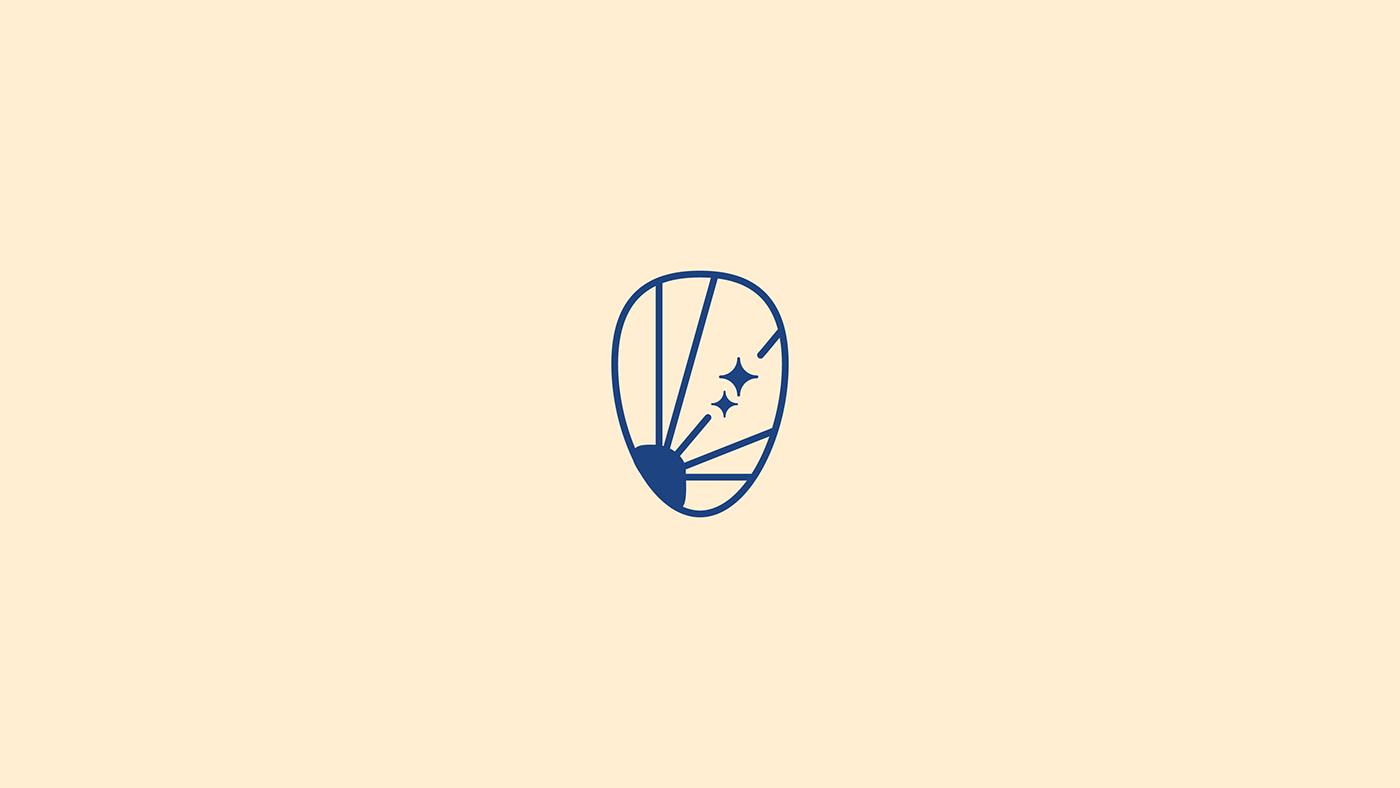 dates graphic design  house logo luxury marks palm Sun شعار لوجو