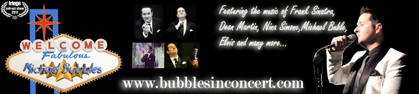 Bubbles in Concert Glasgow Tribute Act Vocalist Michael Buble