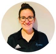 Hereford Dynamix Trampoline Club coach Emma Watkins