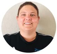 Hereford Dynamix Trampoline Club coach Laura McMillan