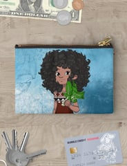 WORLD We Live In REPUBLIC OF FIJI with Dee Zipper Pouch