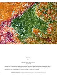 NABK, Jaarboek Kunstenaars, Nederland, Kunstweek. Batik Painting