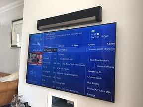 NuDigital TV wall mounting services image