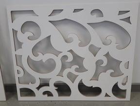 Dekoratyvinės sienelės įvairių raštų pasirinkimas