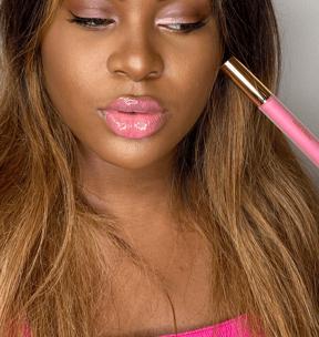 lipgloss pink