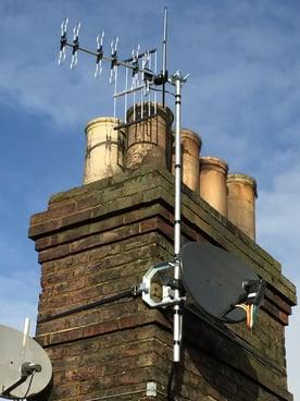 Lewes NuDigital TV aerial and satellite TV installation image