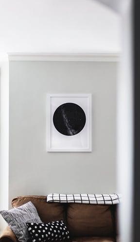 Vinyl on the wall