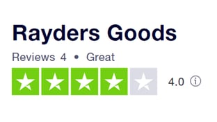 Trustpilot RaydersGoods reviews