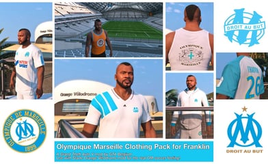 Olympique Marseille clothing pack
