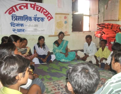 Formation Of Bal Panchayat, to safeguard the child rights.