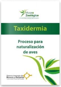 información taxidermia