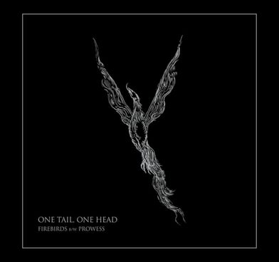 black metal nidrosian one tail one head album cover phoenix