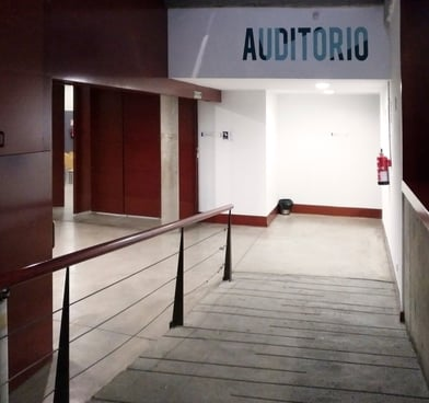Rotulación auditorio