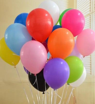 Balon Helium Balon Gas Pelepasan