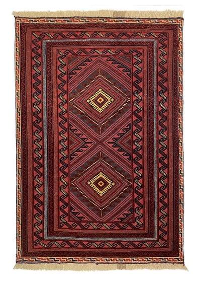 MUSHWANI RUG  - 133cm X 80cm (4'4 x 2'7) - TRIBAL RUGS - Handmade Rug Company