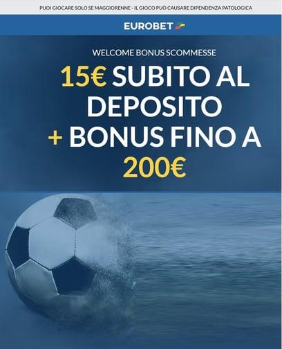 Bonus scommesse eurobet gratis
