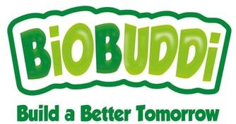 Ekologiškos bioplastiko kaladėlės BiOBUDDi