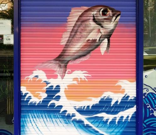 Graffiti pescadería