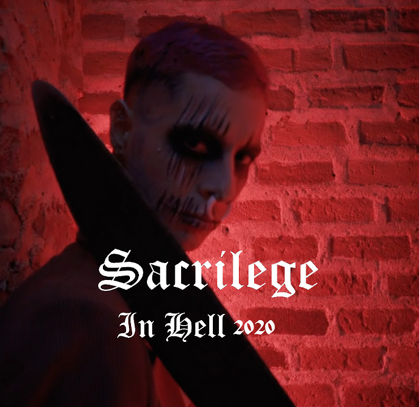 artwork,heavy metal,nwobhm,rockers and other animals, valeria campagnale,sacrilege,in hell,2020