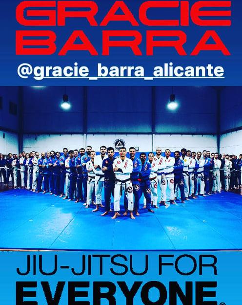Gracie Barra jiu jitsu para todos alicante
