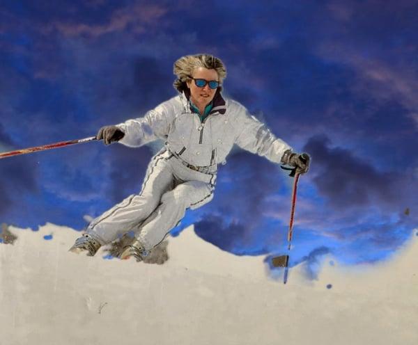 Moira Ross, Ali Ross Skiing Clinics