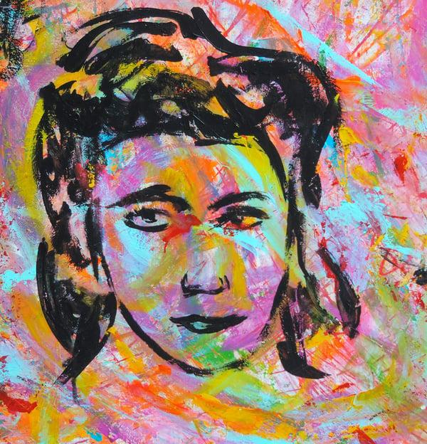 2020 Live Painting Le Madri Costituenti di Carlo Gori per Anpi Novara Piazza Duomo Teresa Mattei