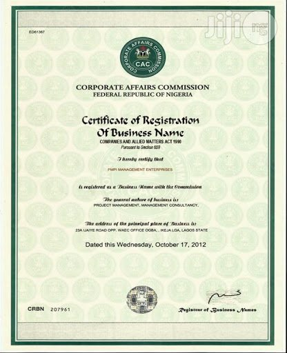 HOW TO REGISTER A COMPANY WITH CAC IN NIGERIA