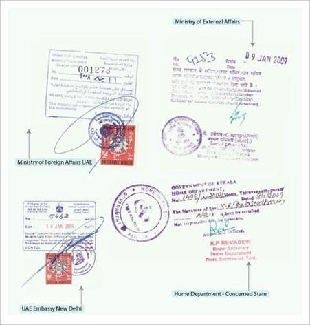 legalization of documents in Nigeria