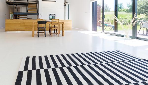 Handmade contemporary flatweave rugs from Artisan Carpets