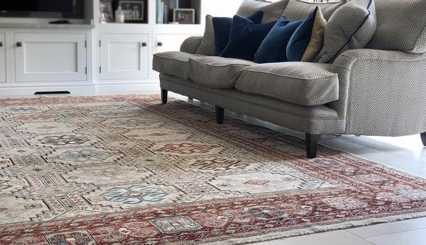 classic and traditional rugs from THE HANDMADE RUG COMPANY