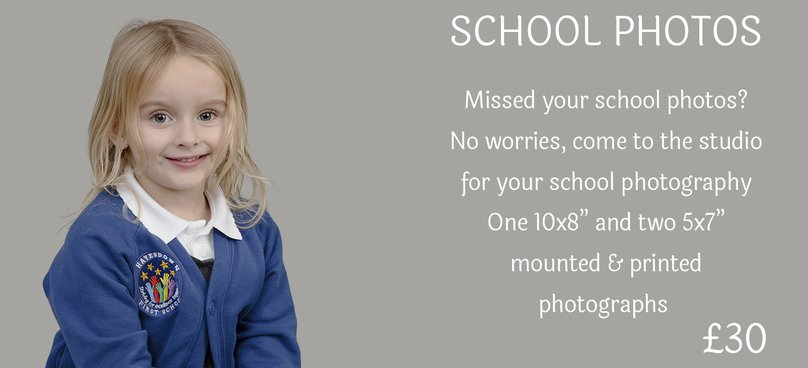 School photography pricing