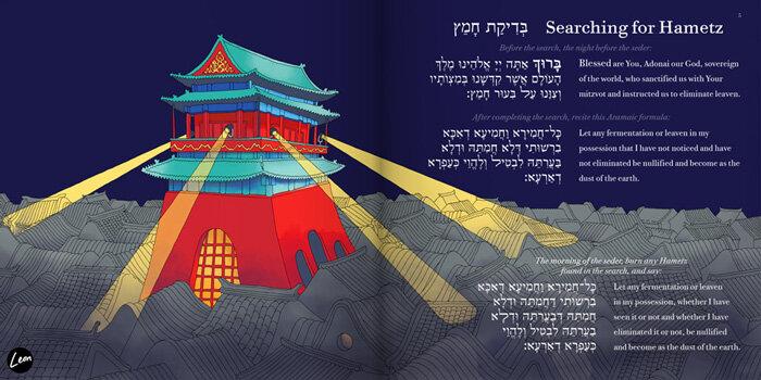 leon-fenster-beijing-haggadah-chametz-pesach